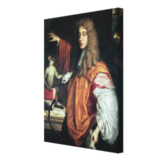John Wilmot 2nd Earl of Rochester c 1675 Gallery Wrap Canvas