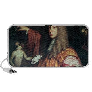 John Wilmot  2nd Earl of Rochester, c.1675 Laptop Speakers