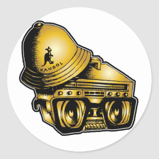 """Johnny 5"" Sticker. Classic Round Sticker"