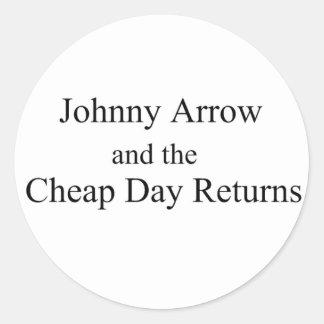 Johnny Arrow Sticker