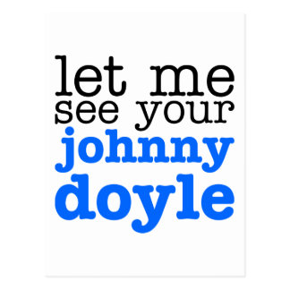 Johnny Doyle Postcard