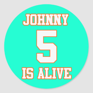 Johnny Five is Alive Sticker