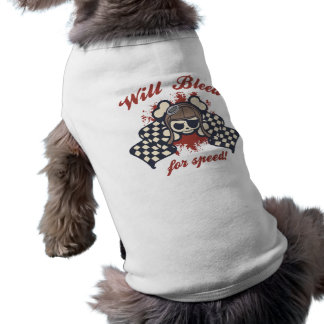 Johnny Flags Sleeveless Dog Shirt