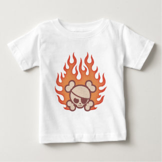 Johnny Flames Baby T-Shirt
