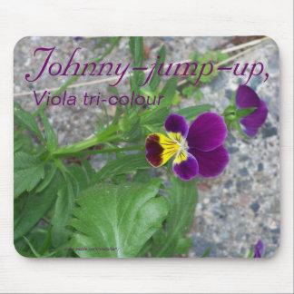 JOHNNY-JUMP-UP, Viola tri-colour Mouse Pad