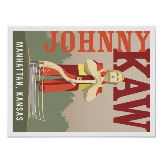 Johnny Kaw - 16x12 Poster