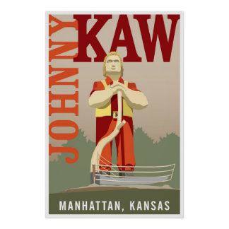 Johnny Kaw Poster