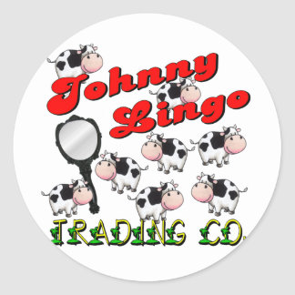 Johnny Lingo Trading Co. Classic Round Sticker
