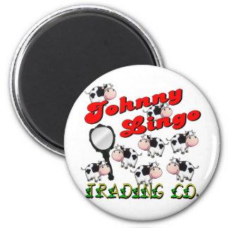 Johnny Lingo Trading Co. Fridge Magnets