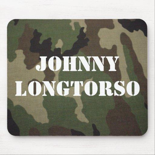 Johnny Longtorso Mousepads
