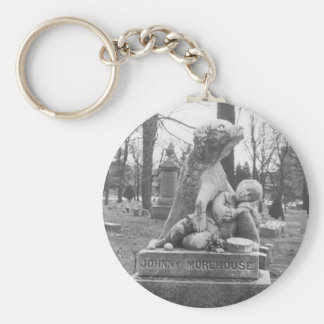 Johnny Morehouse Basic Round Button Key Ring