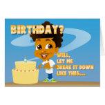 Johnny Nutshell | Birthday Party Invitation Greeting Card