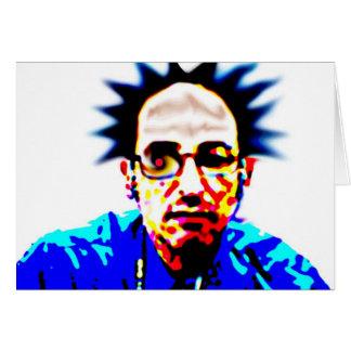 Johnny Rotten Says Hi Greeting Card