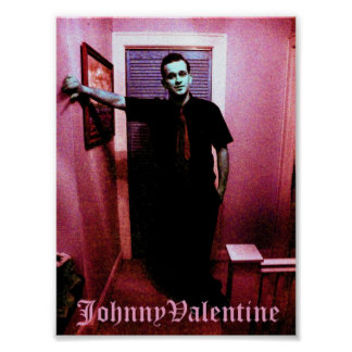 Johnny Valentine Poster