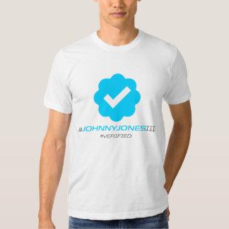 @JohnnyJonesIII - Verified Tshirt