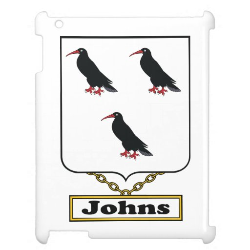 Johns Family Crest Case For The iPad