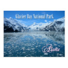 Johns Hopkins Glacier, Glacier Bay, Alaska Postcard
