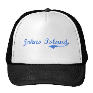 Johns Island Washington Classic Design Trucker Hats