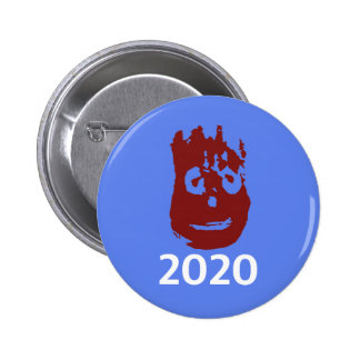 Johnson and Hanks 2020 Campaign Button - Wilson