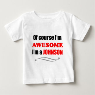 Johnson Awesome Family Baby T-Shirt
