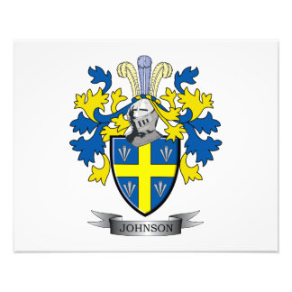 Johnson Coat of Arms Photo Print