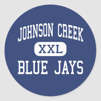 Johnson Creek - Blue Jays - High - Johnson Creek Round Stickers