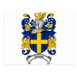 Johnson Family Crest - Coat of Arms Post Card