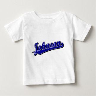 Johnson in Blue Baby T-Shirt