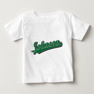 Johnson in Green Shirt