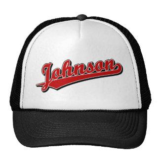 Johnson in Red Cap