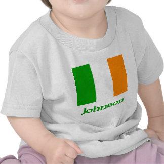 Johnson Irish Flag Tee Shirt