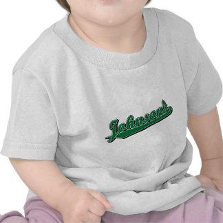 Johnson s in Green Shirt