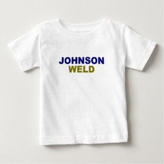 Johnson-Weld dark text Baby T-Shirt
