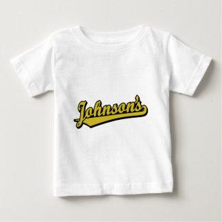Johnson's in Gold Tshirt