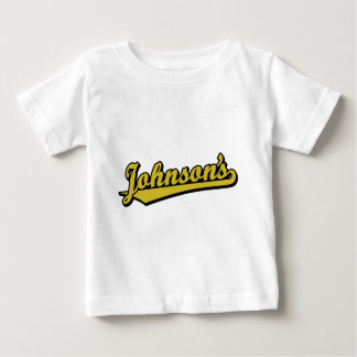 Johnson's in Gold Tshirts
