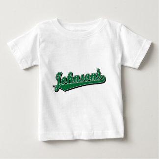 Johnson's in Green T-shirt