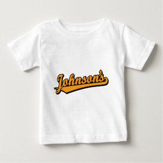 Johnson's in Orange T-shirt