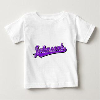 Johnson's in Purple T Shirt