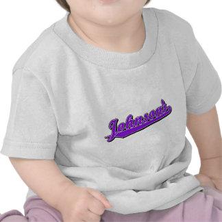 Johnson's in Purple Tee Shirts