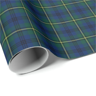 Johnston Clan Tartan Wrapping Paper