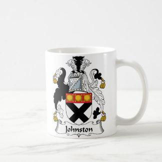 Johnston Family Crest Mugs