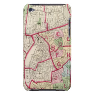 Johnston Rhode Island Map Barely There iPod Covers