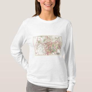 Johnston Rhode Island Map T-Shirt