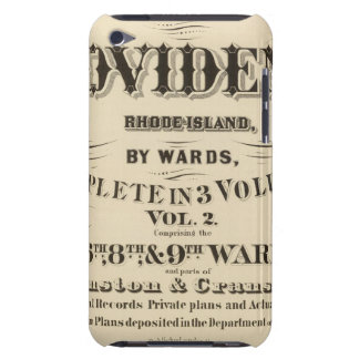 Johnston Rhode Island Very early Hopkins city iPod Touch Case
