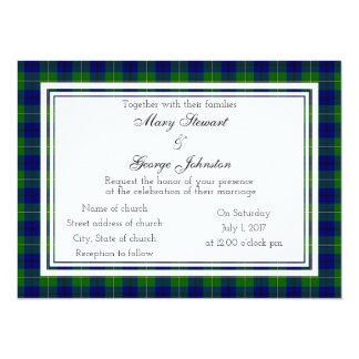 Johnston Scottish Wedding Invitation