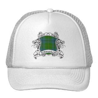 Johnston Tartan Shield Mesh Hats