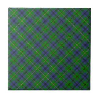 Johnstone Scottish Clan Tartan Design Tile
