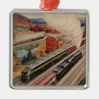 Johnstown, Pennsylvania (Commerce Trains) Christmas Ornament