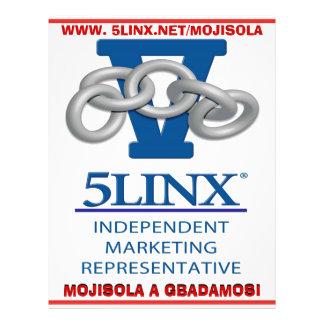 JOIN 5LINX NDEPENDENT MARKETING REPRESENTATIVE 21.5 CM X 28 CM FLYER