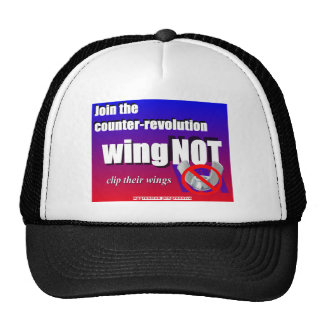 Join a counter-revolution, clip a wing-nut's wings cap